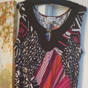 Key Hole Maxi Dress by Avenue